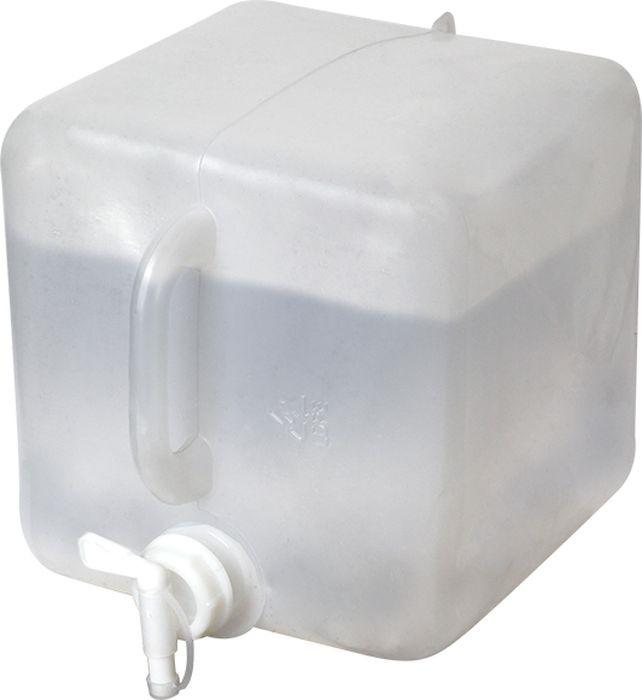 Канистра для воды складная Сплав, с краном, белый, 20 л канистра для воды нпп технохим складная 7 л