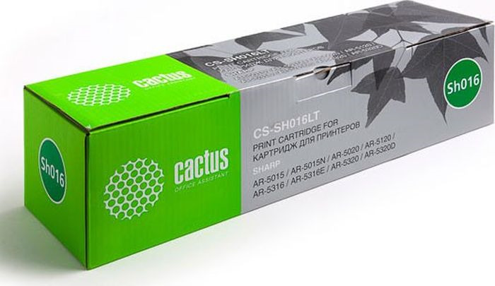 Картридж Cactus CS-SH016LT, черный, для лазерного принтера цена 2017
