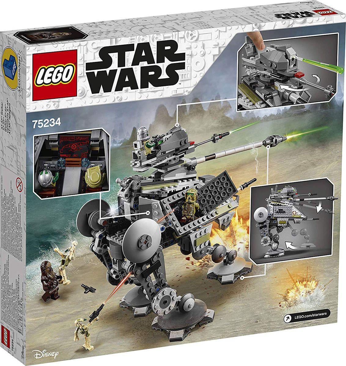 Пластиковый конструктор LEGO 75234
