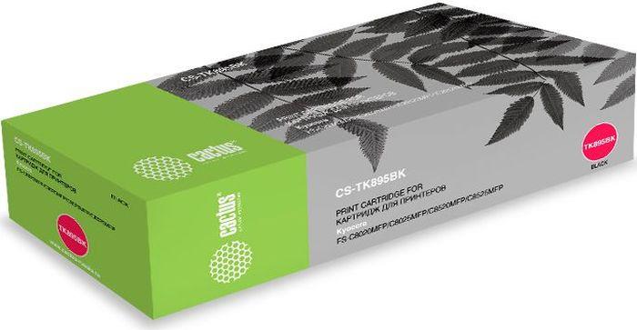 Картридж Cactus CS-TK895BK, черный, для лазерного принтера картридж cactus cs tk160 черный 2500стр для kyocera mita fs 1120 черный