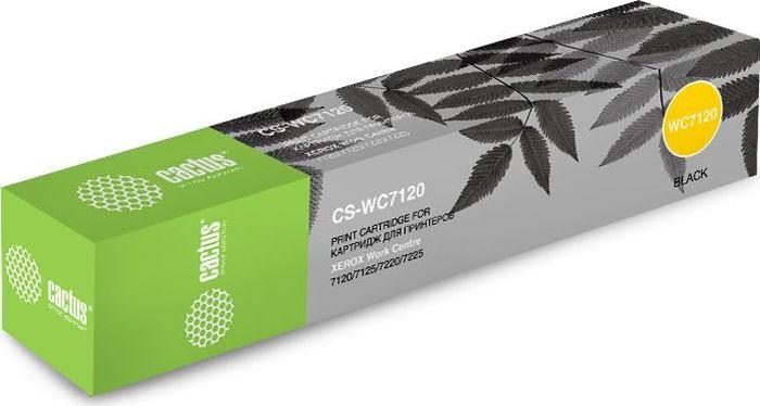 Фото - Картридж Cactus CS-WC7120, черный, для лазерного принтера тонер картридж cactus cs ph3610xl 106r02732 черный 25300стр для xerox ph 3610 wc 3615dn