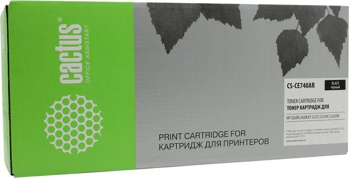 Картридж Cactus CS-CE740AR, черный, для лазерного принтера все цены