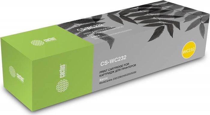 Картридж Cactus CS-WC232, черный, для лазерного принтера картридж xerox 006r01046