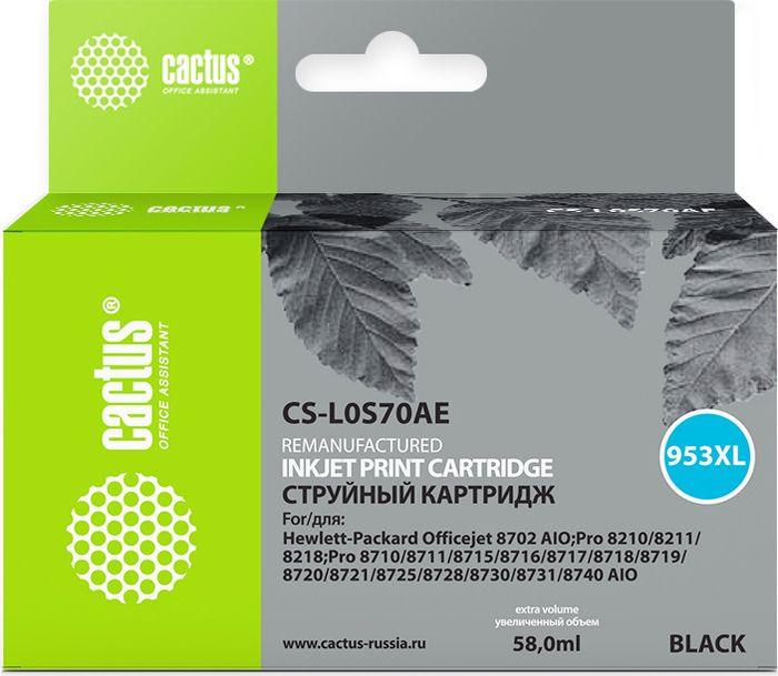 Картридж Cactus CS-L0S70AE, черный, для струйного принтера все цены