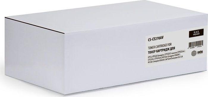 Картридж Cactus CS-CE270AV, черный, для лазерного принтера все цены
