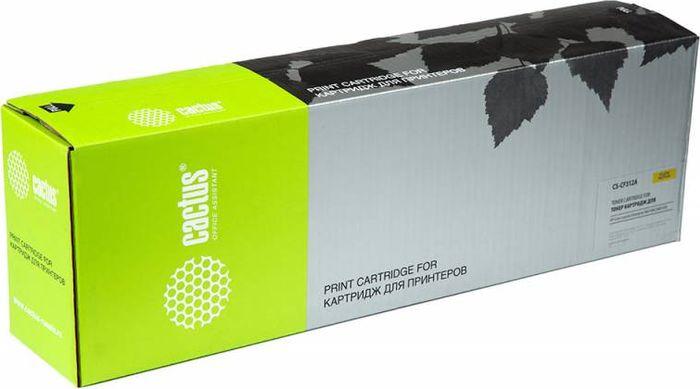 Картридж Cactus CS-CF312AR, желтый, для лазерного принтера цены онлайн