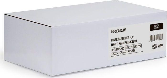 Картридж Cactus CS-CE740AV, черный, для лазерного принтера все цены