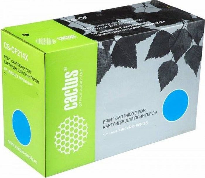 Картридж Cactus CS-CF232A, черный, для лазерного принтера цена
