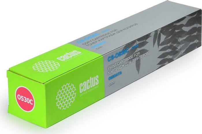 Картридж Cactus CS-O530C, голубой, для лазерного принтера картридж cactus cs tk540с голубой