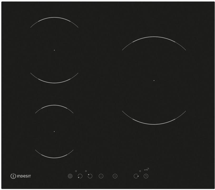 Варочная панель Indesit VIA 630 S C, черный Indesit