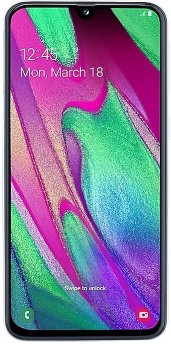 Смартфон Samsung Galaxy A40 4/64GB white смартфон texet m 5071 черный смартфон
