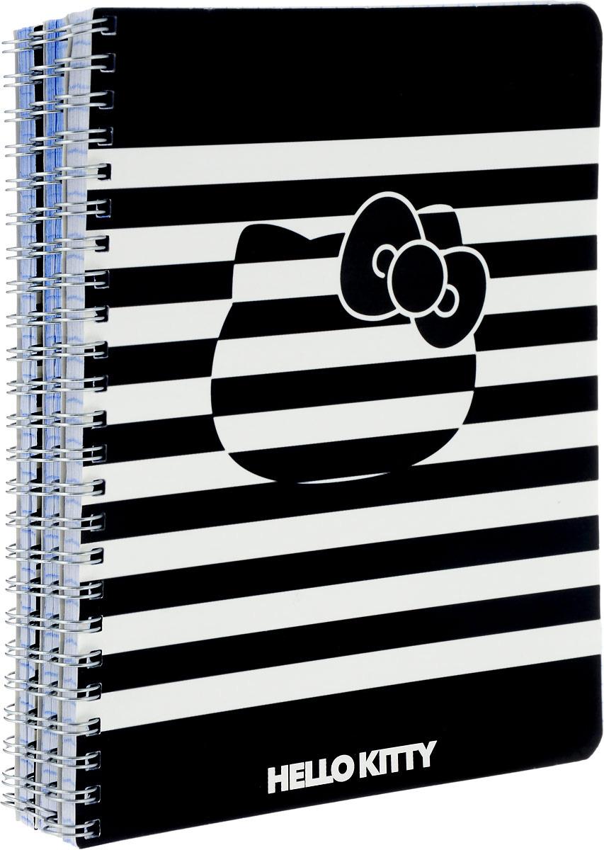 Тетрадь Action! Hello Kitty, HKO-ANS 8001/5-2/3, в клетку, 80 листов, 3 шт тетрадь общая action hello kitty hko an 4801 5 3 48 листов клетка скрепка в ассортименте