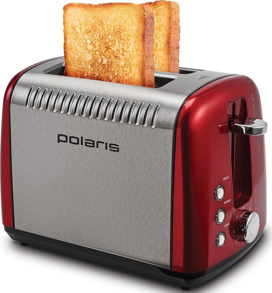 Тостер Polaris PET 0915A, красный Polaris