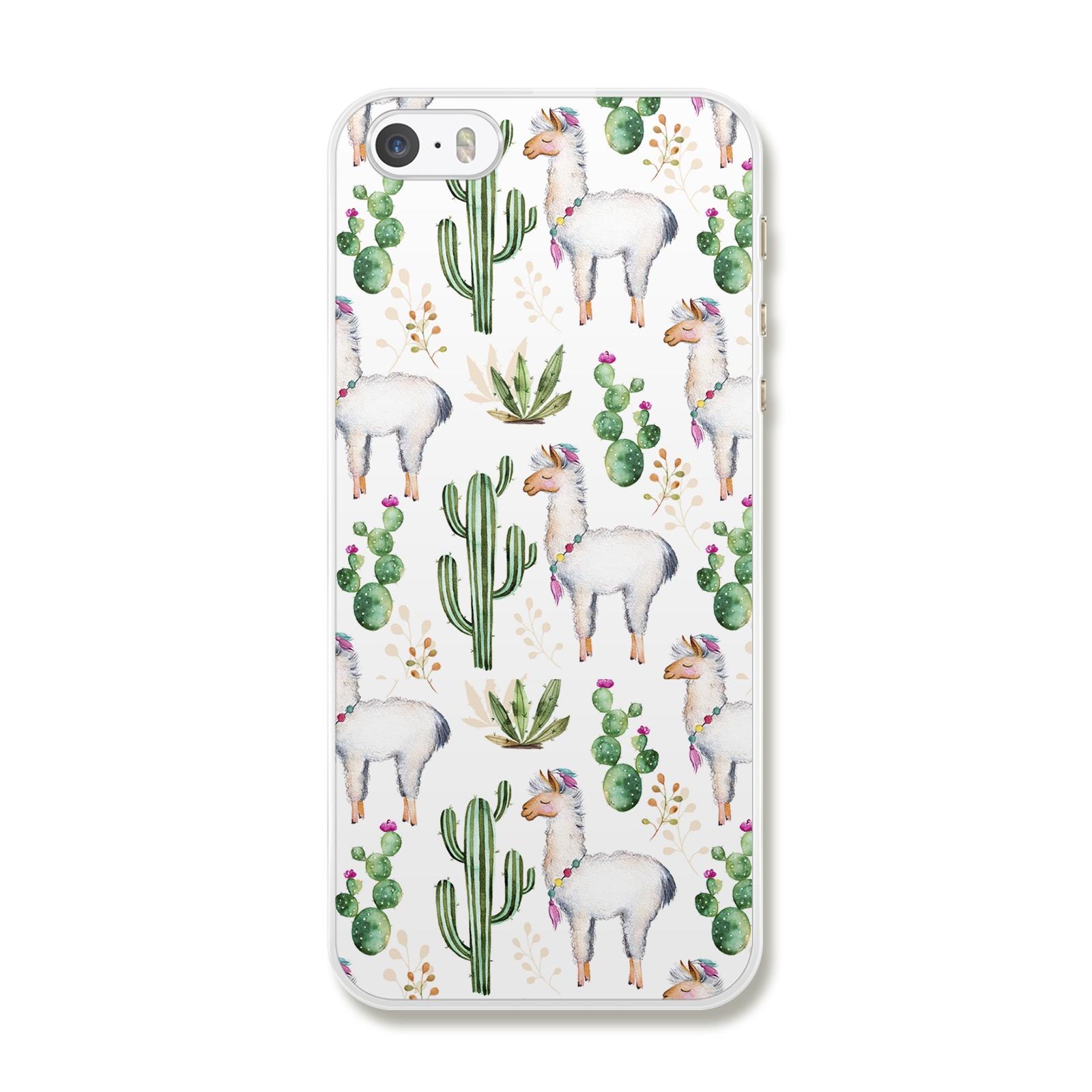 """Чехол для сотового телефона Дайте две! """"Лама"""" для iPhone 5/5S/SE, IP5.CASE-9, разноцветный"""
