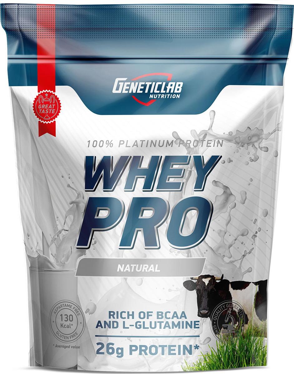 Протеин сывороточный Geneticlab Nutrition Whey Pro, натуральный, 900 г multi whey