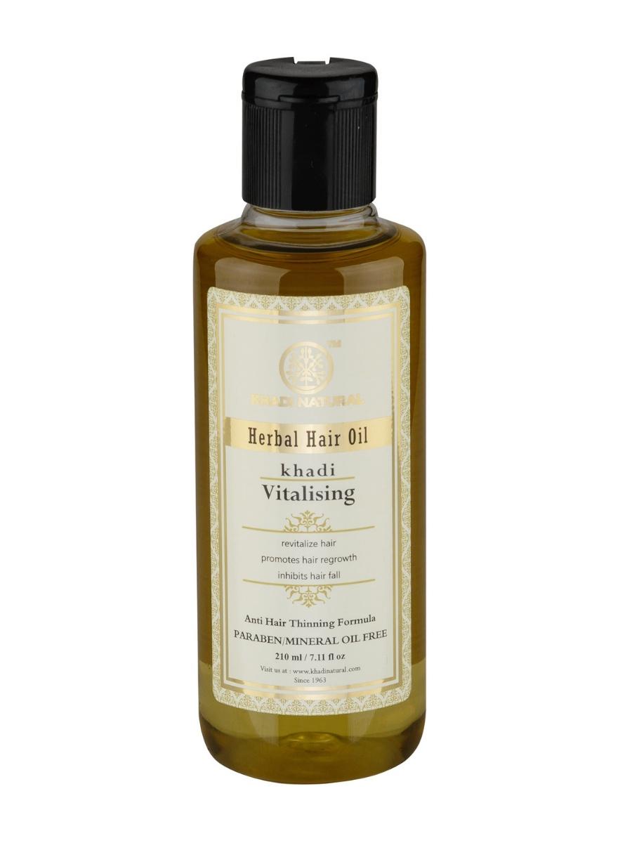 Масло для волос Khadi Natural Витализирующее без парабенов и минерального масла