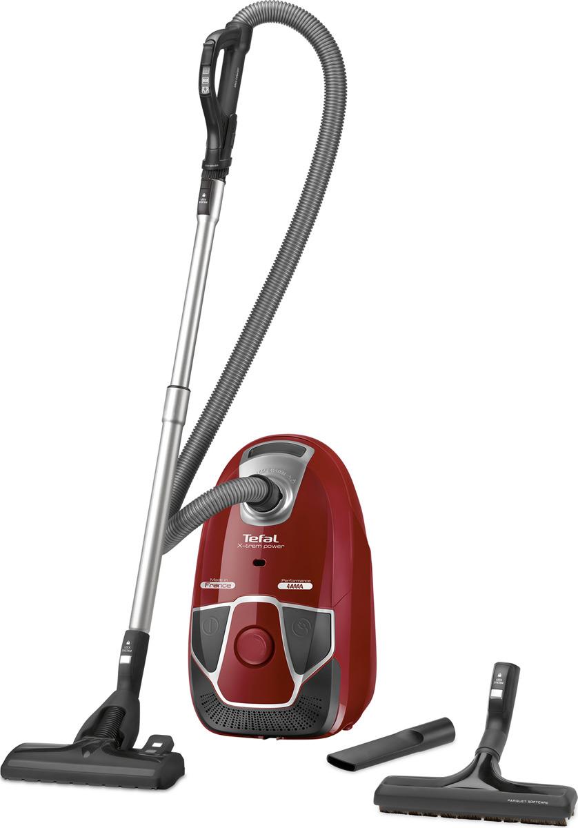 Пылесос Tefal TW6843EA, красный
