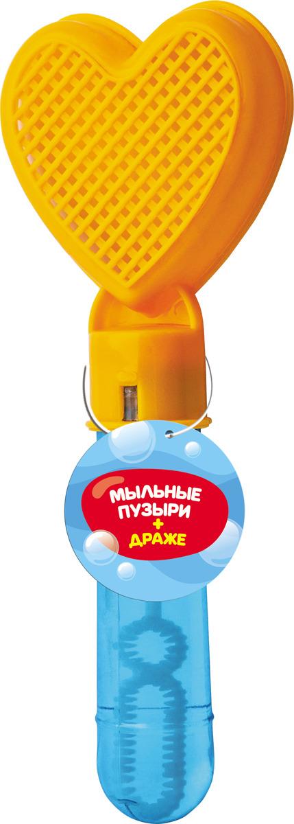 Конфеты Конфитрейд Лето с игрушкой для пускания мыльных пузырей Мини песочница, 5 г, цвет в ассортименте конфитрейд лето водный пистолет драже с игрушкой 5 г