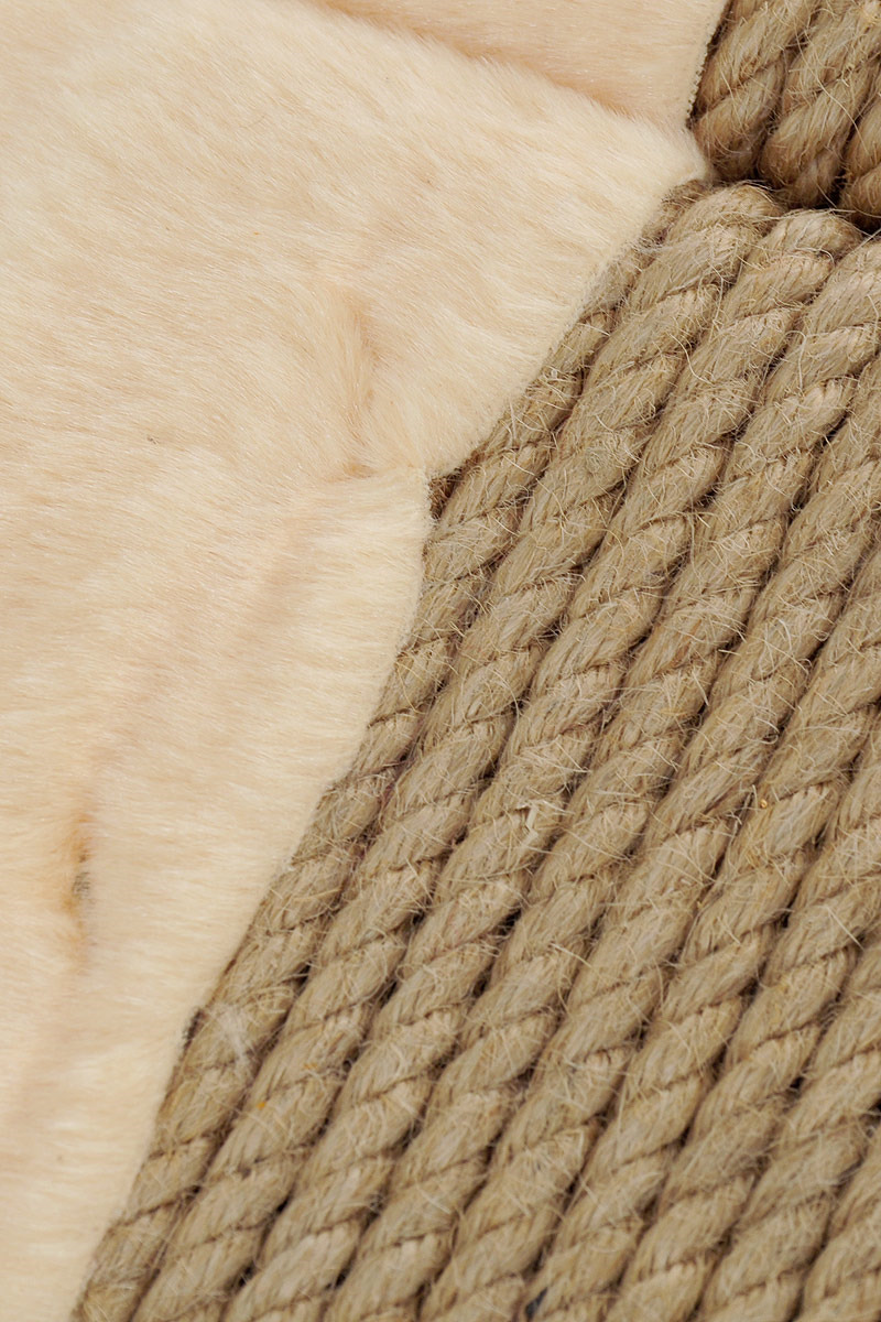 Когтеточка для кошек ZOOexpress, угловая, 38031, высота 50 см ZOOexpress