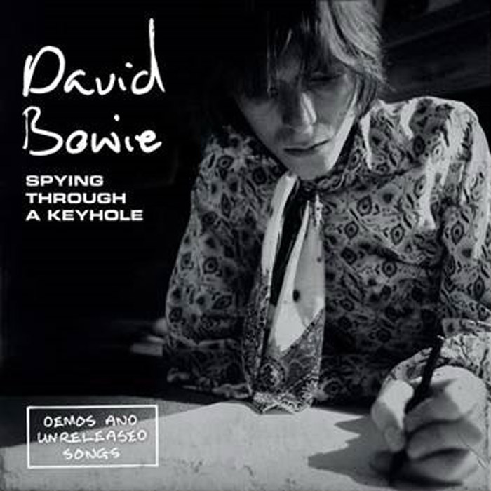 Фото - Дэвид Боуи David Bowie. Spying Through A Keyhole (Demos And Unreleased Songs) (4 LP) contrast lace keyhole back blouse