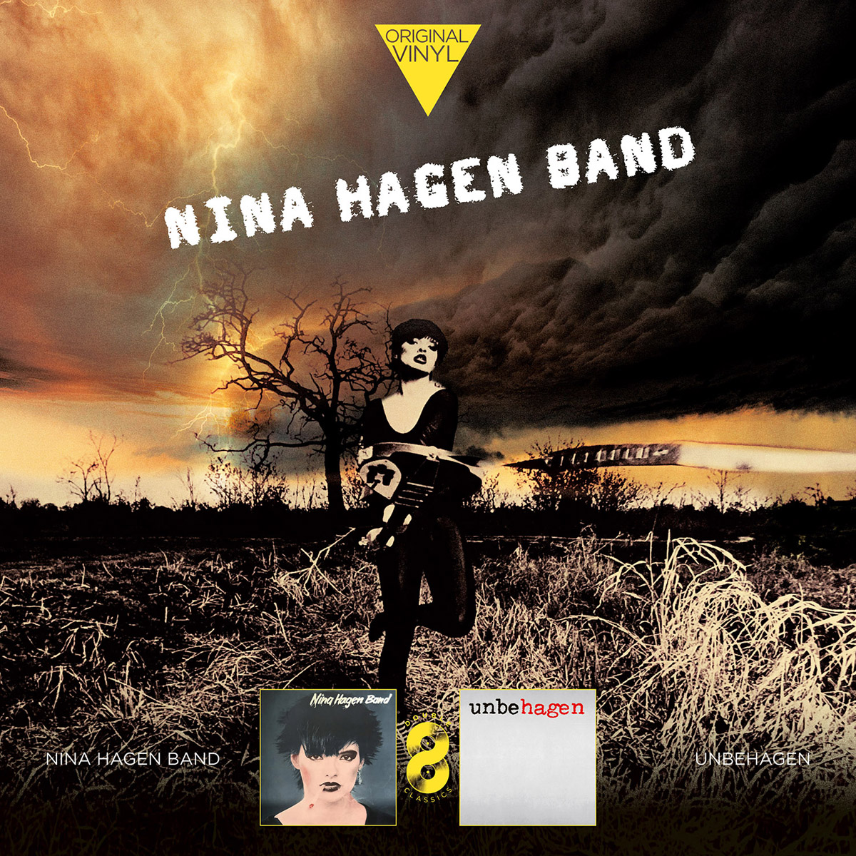 Nina Hagen Band Nina Hagen Band. Original Vinyl Classics: Nina Hagen Band + Unbehagen (2 LP) mehbooba band mehbooba band fanfare de calcutta