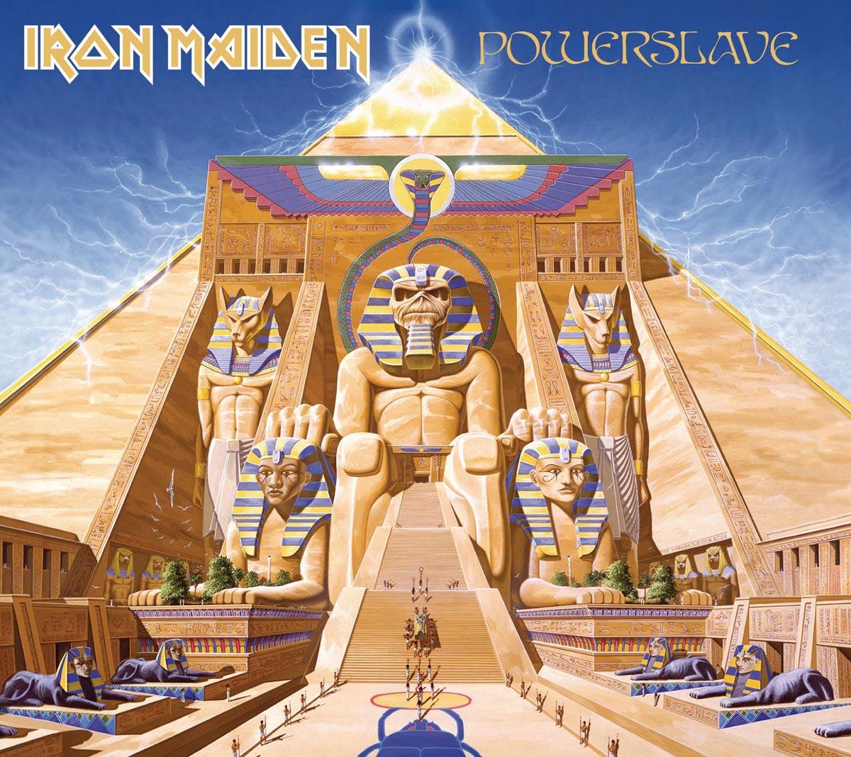 Фото - Iron Maiden Iron Maiden. Powerslave iron maiden iron maiden powerslave