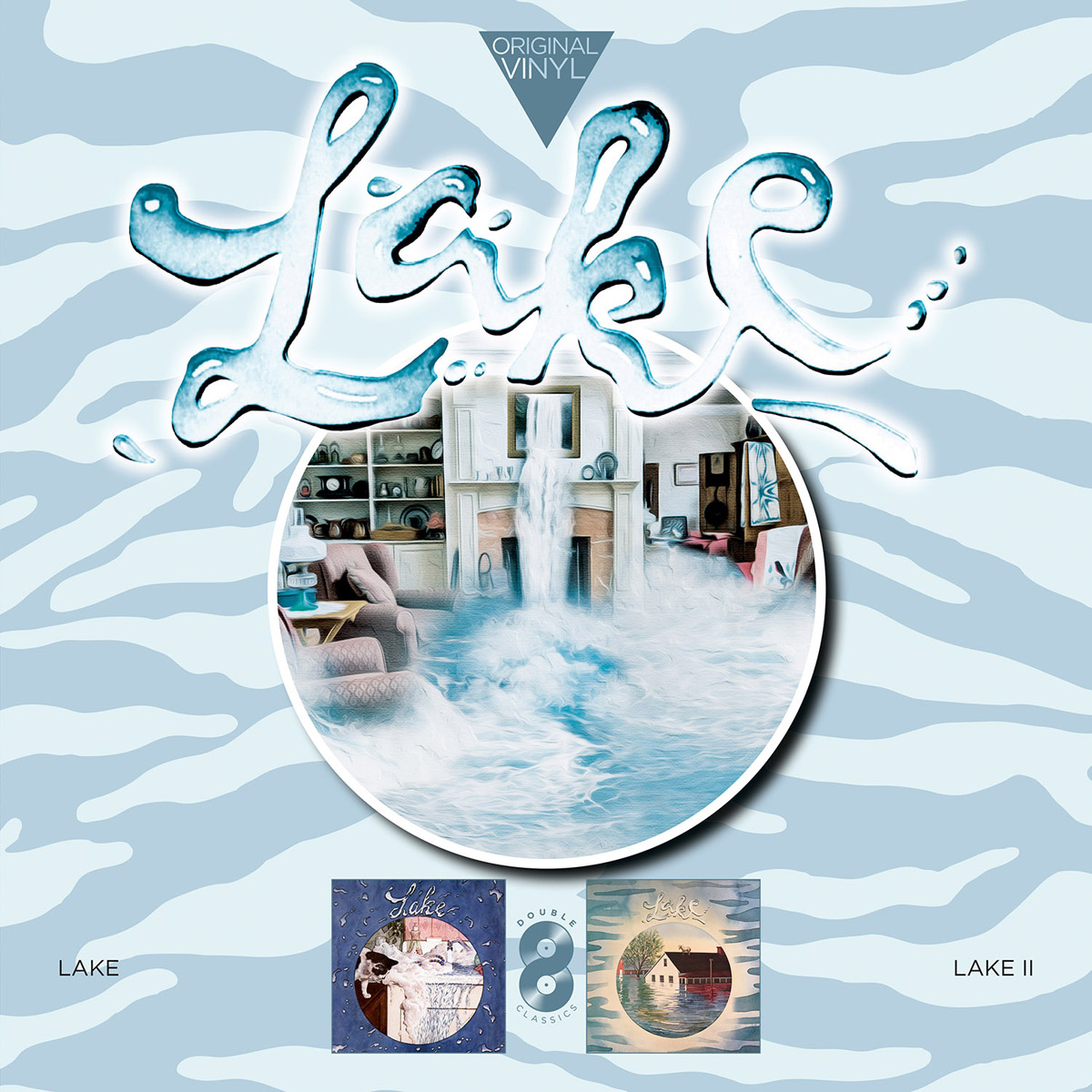 лучшая цена Lake Lake. Original Vinyl Classics: Lake + Lake Ii (2 LP)