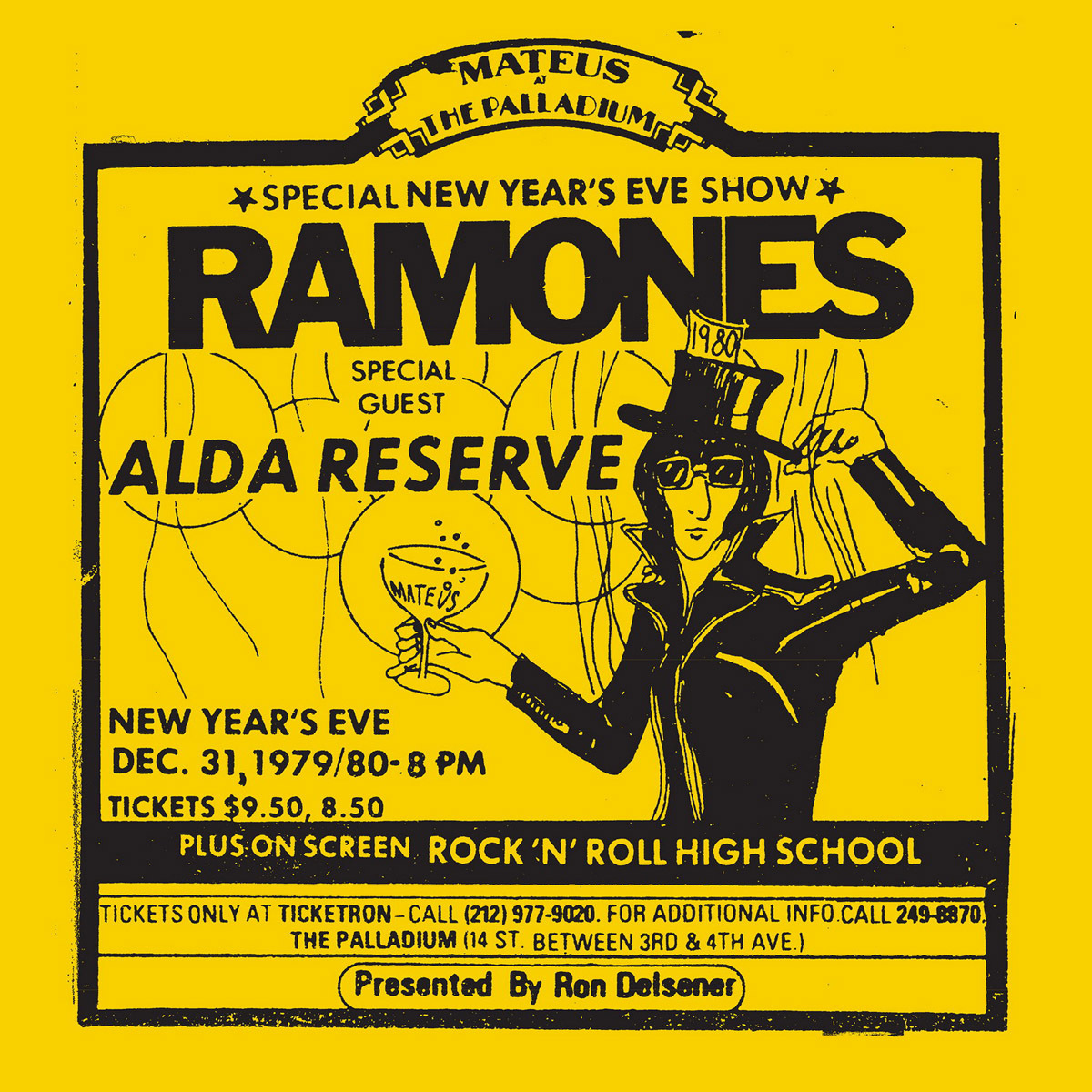 Ramones. Live At The Palladium, New York, Ny (12/31/79) (2 LP) new era ny