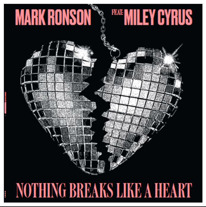 Марк Ронсон,Майли Сайрус Mark Ronson, Miley Cyrus. Nothing Breaks Like A Heart (LP) марк ронсон super karaoke hits 2015