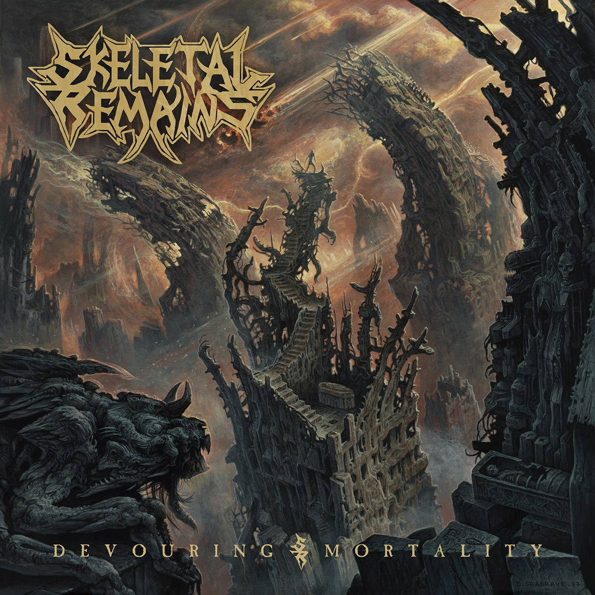 Skeletal Remains. Devouring Mortality (LP) skeletal remains skeletal remains devouring mortality lp 180 gr cd