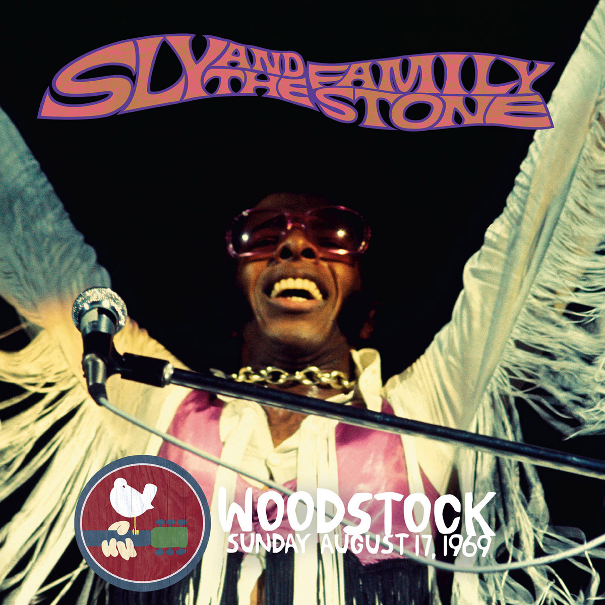 Sly & The Family Stone Stone. Woodstock Sunday August 17, 1969 (2 LP)