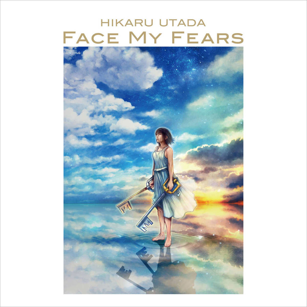 Хикару Утада,Skrillex Hikaru Utada, Skrillex. Face My Fears From Kingdom Hearts 3 Video Game (LP) цена и фото