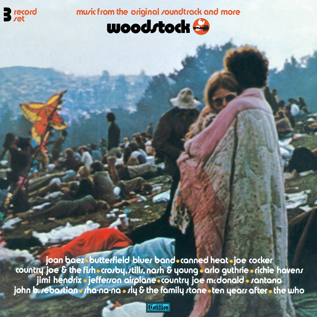 Various Artists Various Artists. Woodstock: Music From The Original Soundtrack And More, Vol. 1 (3 LP) детская книга из ткани and music family hlbs t1 3d 0 1 3
