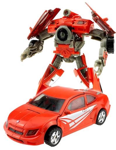Трансформер Город Игр D484901 город игр робот трансформер спорткар