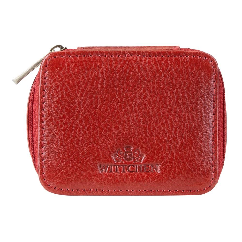Косметичка Wittchen 21-2-034, красный берет женский фабрика оренбургских пуховых платков цвет красный шп 034 19 размер универсальный