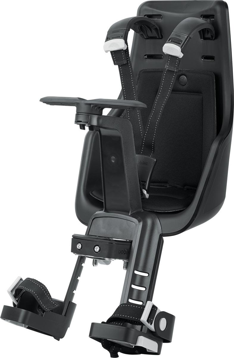 Велокресло детское переднее Bobike Exclusive Edition Mini, крепление на руль, 8011000016, черный