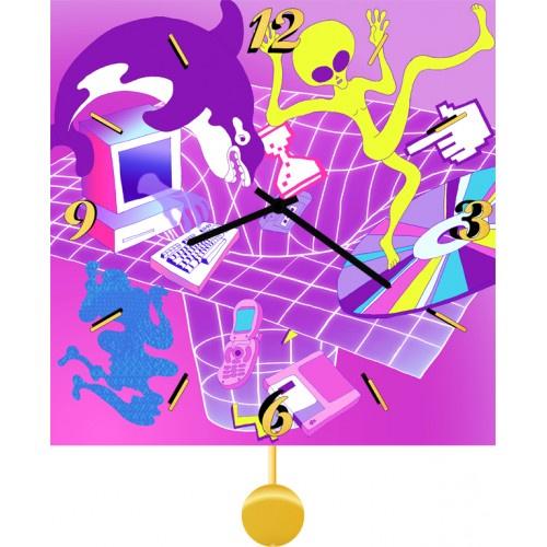 Настенные часы Kitch Art 4011754
