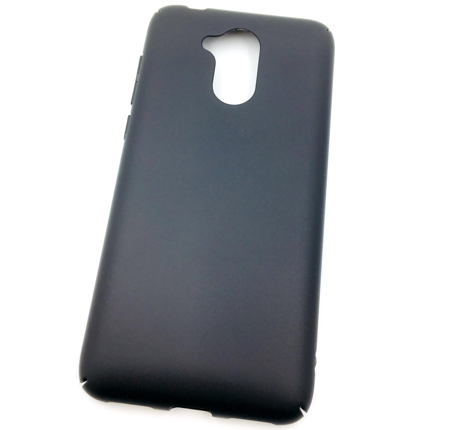 Чехол для сотового телефона Мобильная мода Honor 6A Накладка пластиковая с матовым противоскользящим покрытием, черный