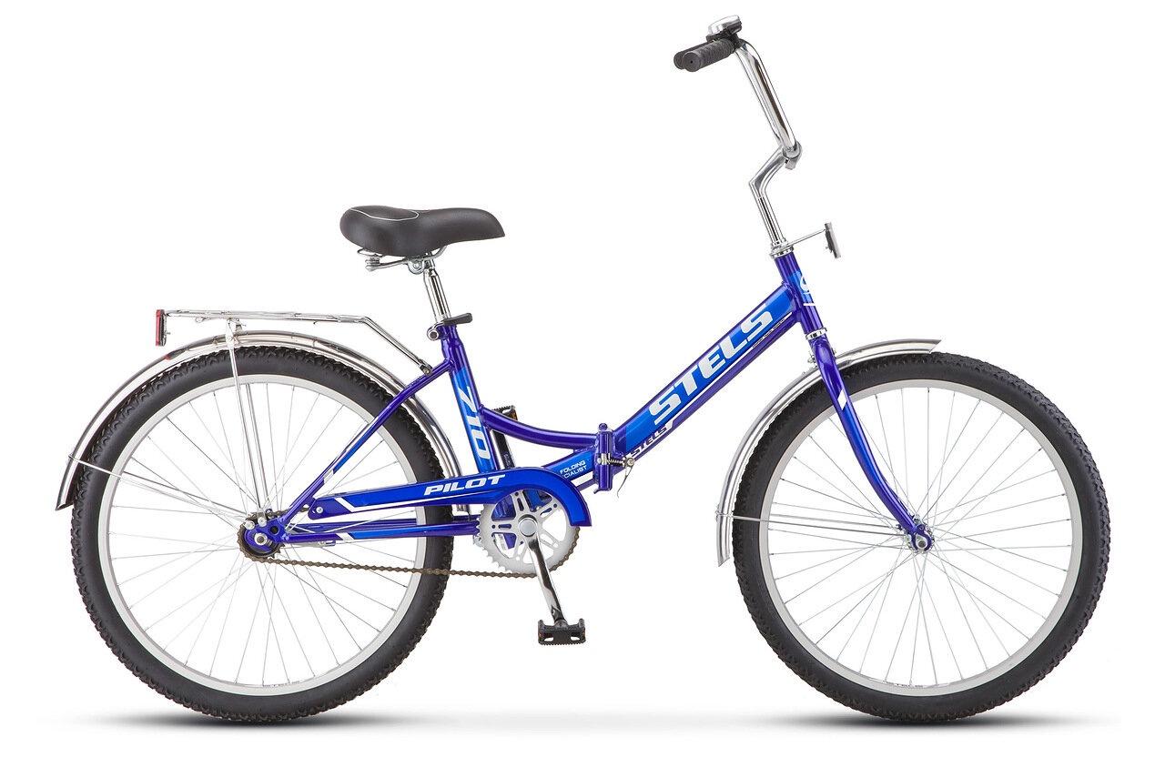 Фото - Велосипед Stels Pilot-710, синий stels pilot 750 24 16