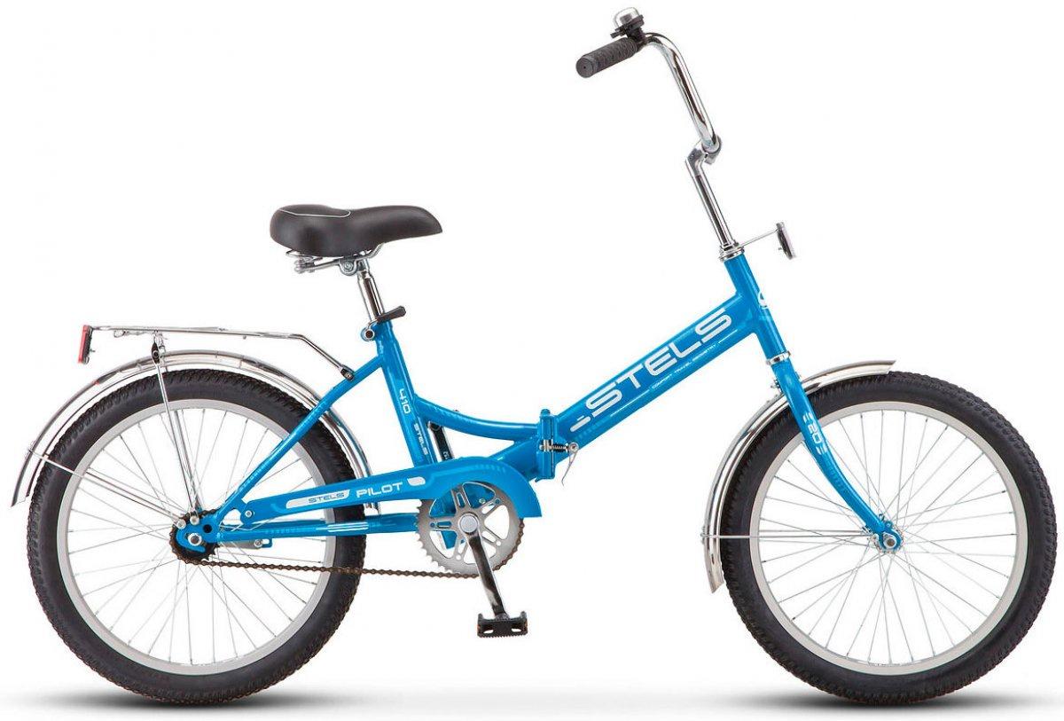 Велосипед Stels Pilot-410, синий stels pilot 410 2017