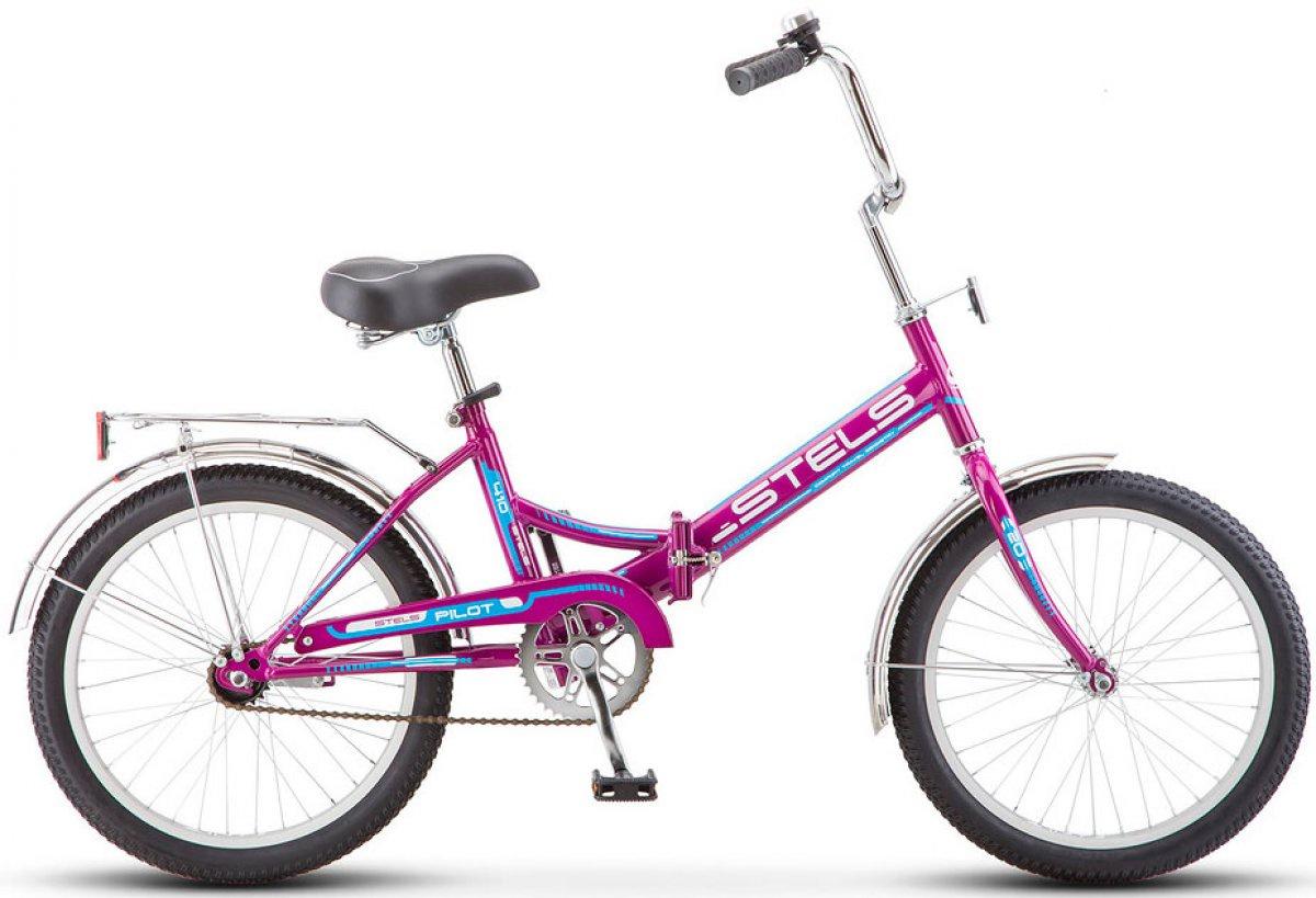 Велосипед Stels Pilot-410, фиолетовый stels pilot 410 2017