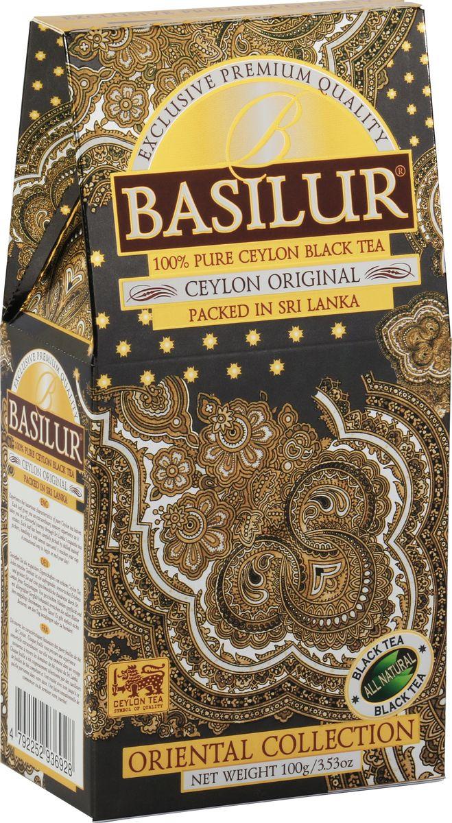 Чай листовой Basilur Восточная коллекция, 100 г basilur frosty day черный листовой чай 100 г