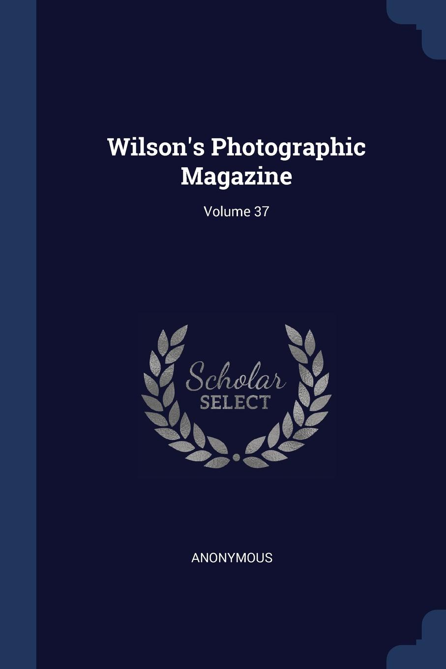 M. labbé Trochon W Photographic Magazine; Volume 37