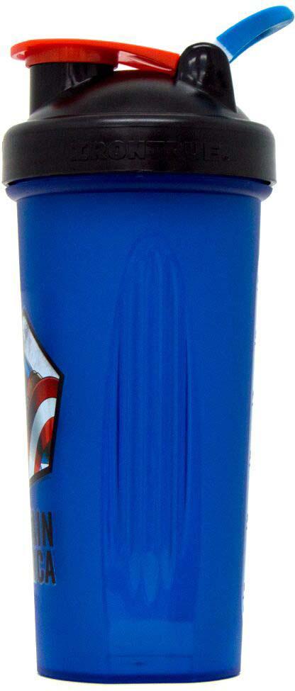 Шейкер спортивный Irontrue Marvel Captain America, M916-600CA, синий, 700 мл Irontrue