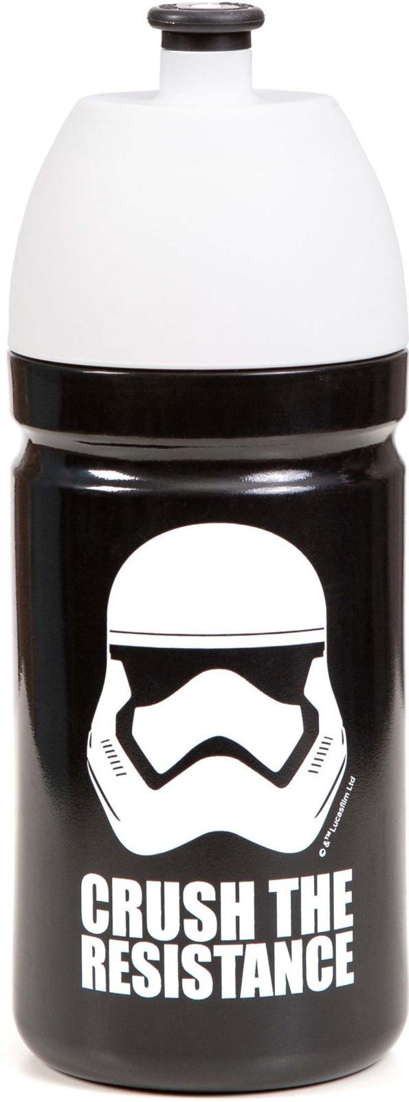 Спортивная бутылка Irontrue Star Wars, SW709-500ST, черный, 500 мл бутылка спортивная sport victory nutrition цвет белый черный прозрачный 750 мл