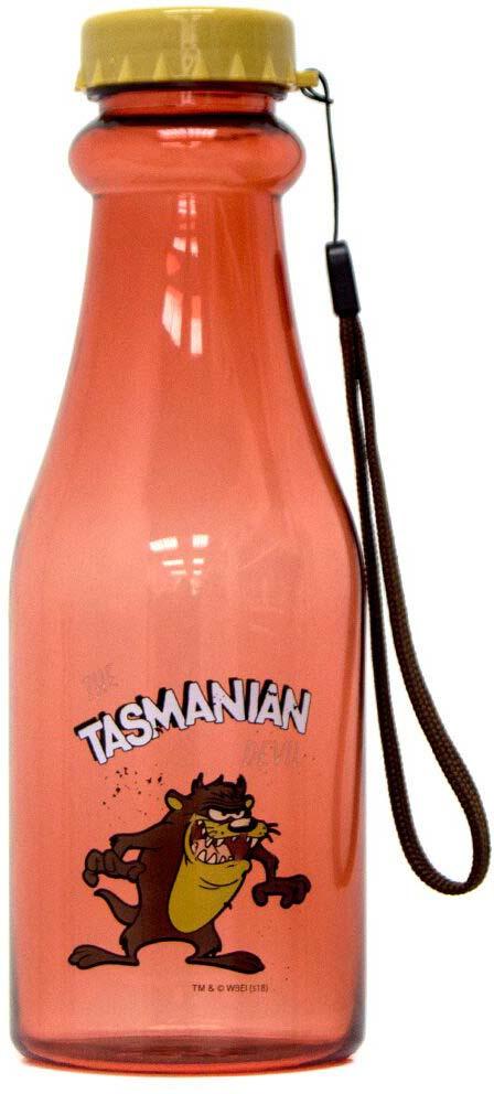 Спортивная бутылка Irontrue Looney Tunes Tasmanian Devil, LT921-550TD, оранжевый, 550 мл самокат 1toy looney tunes 5 4 оранжевый