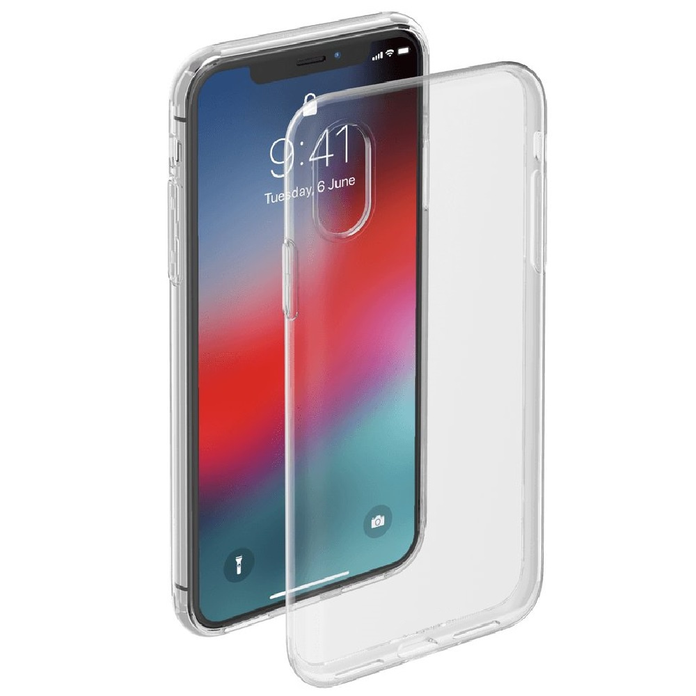 Чехол для сотового телефона ONZO iPhone XR, прозрачный