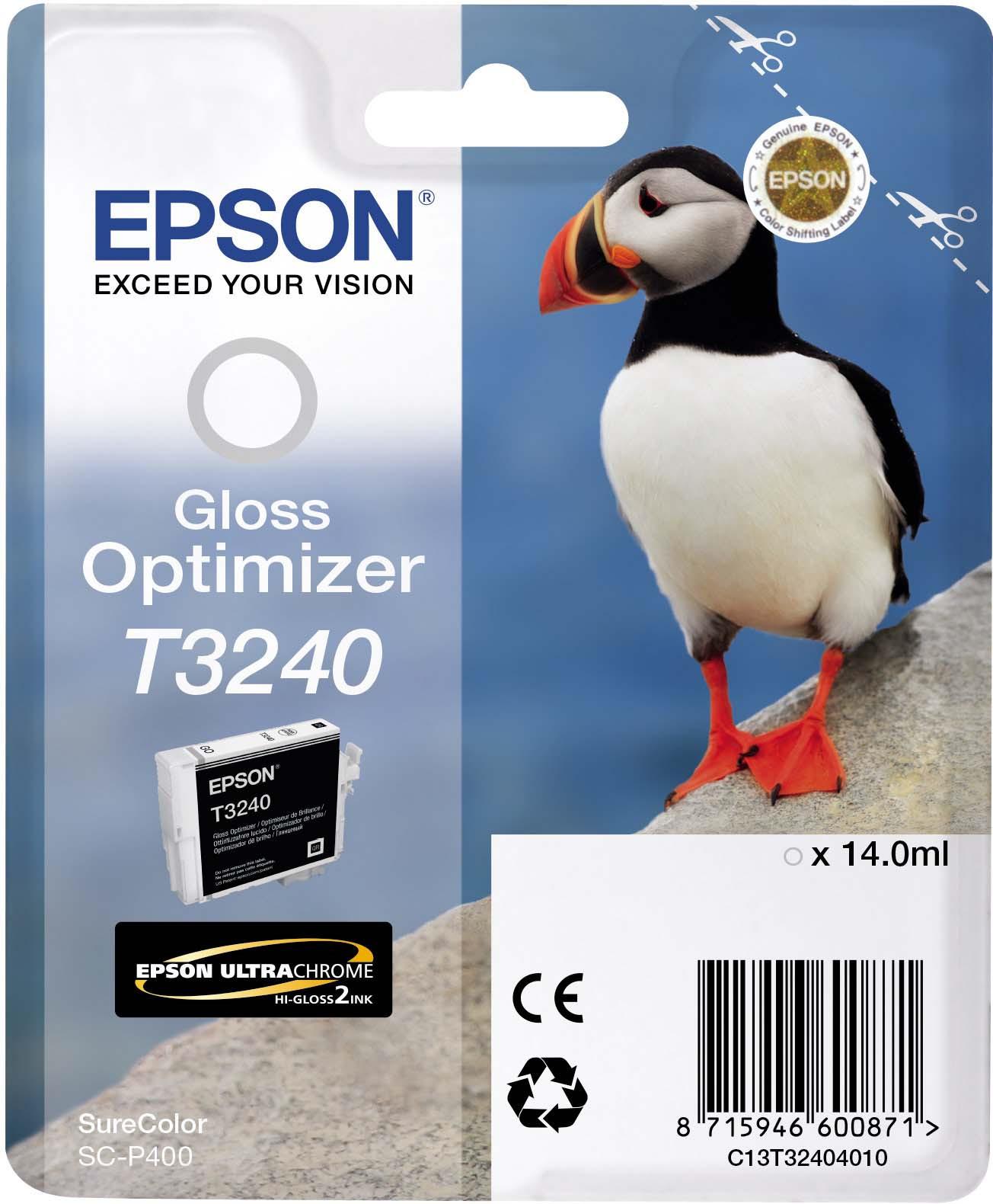 Оптимизатор глянца Epson C13T32404010 Gloss optimizer для принтеров Epson SC-P400