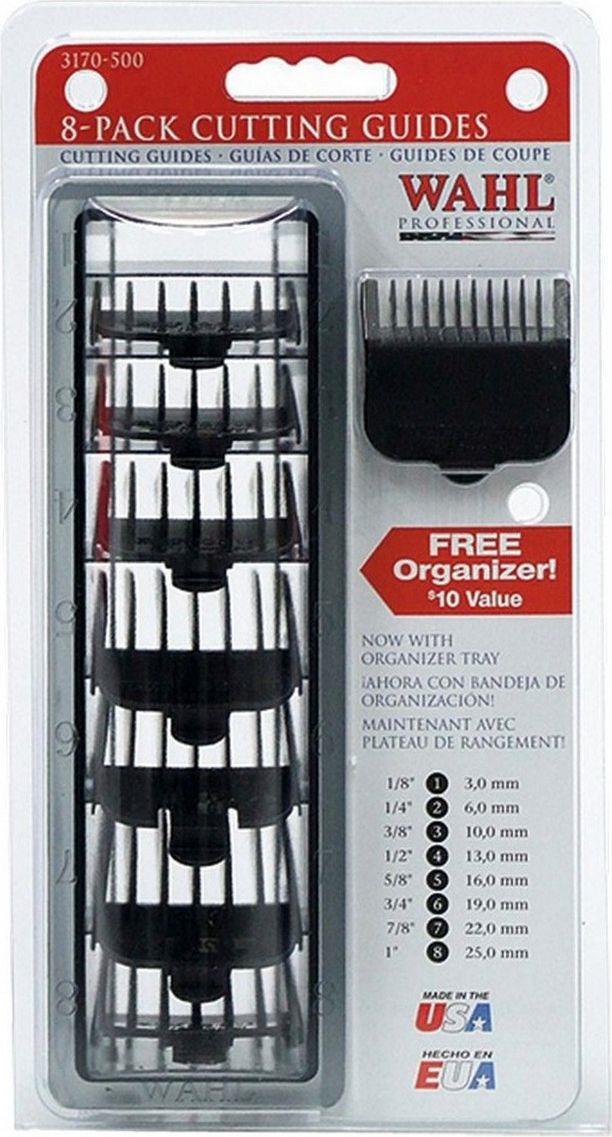 Набор пластиковых насадок Moser для Wahl, черный, 8 шт набор сундучков roura decoracion 3 шт 34783
