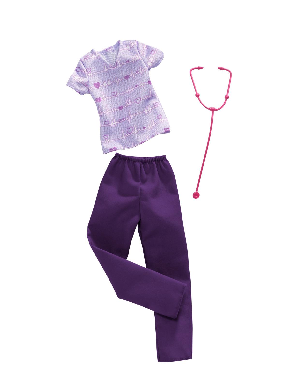 Набор аксессуаров для кукол Barbie Кем быть? Доктор, FND49_FXH96